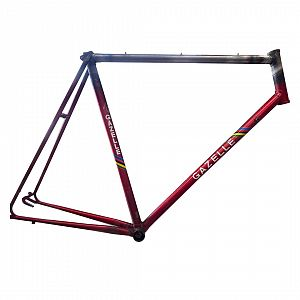 Fit top tube lugged