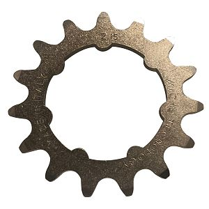Miche track sprocket 3/32 x 15 WITH CARRIER