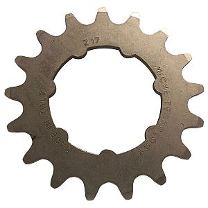 Miche track sprocket 3/32 x 17 WITH CARRIER