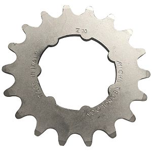 Miche track sprocket 3/32 x 18 WITH CARRIER