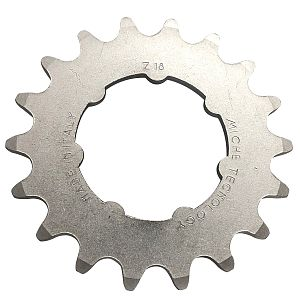 "Miche 18t track sprocket 1/8"" with carrier"